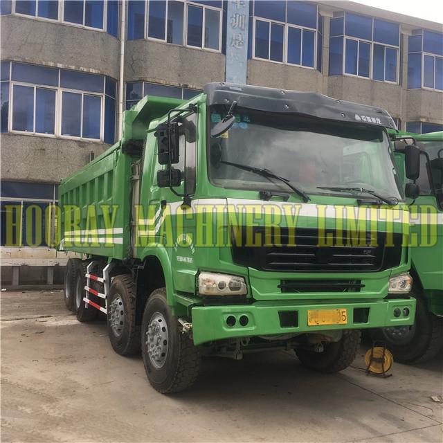 2017 Year Used SINOTRUCK HOWO 8x4 12 Wheel Dump Truck